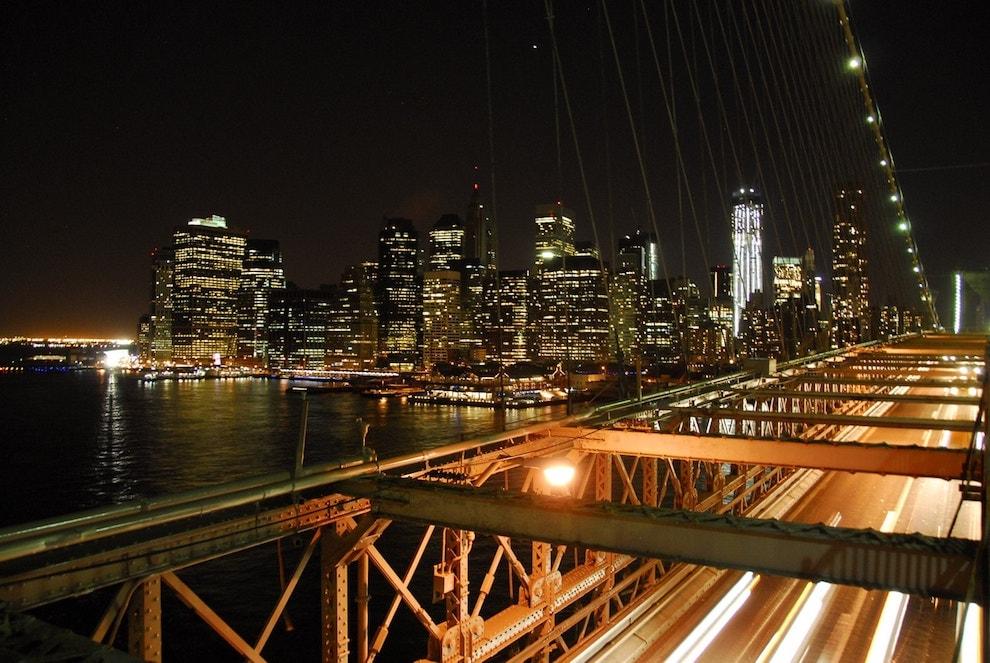 New York Brooklynský most
